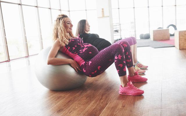 Vaje za pilates za nosečnice