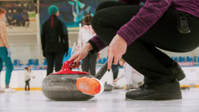 Photo of Oprema za curling: kamni, metla in čevlji