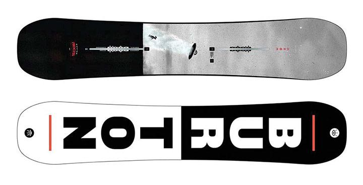Freestyle / Park snowboard Burton Process