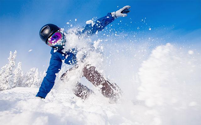 Powder deskanje na snegu