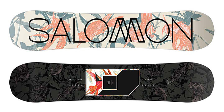 Ženski freeride snowboard Salomon Wonder