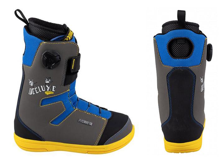 Otroški snowboard čevlji Deeluxe Junior multi